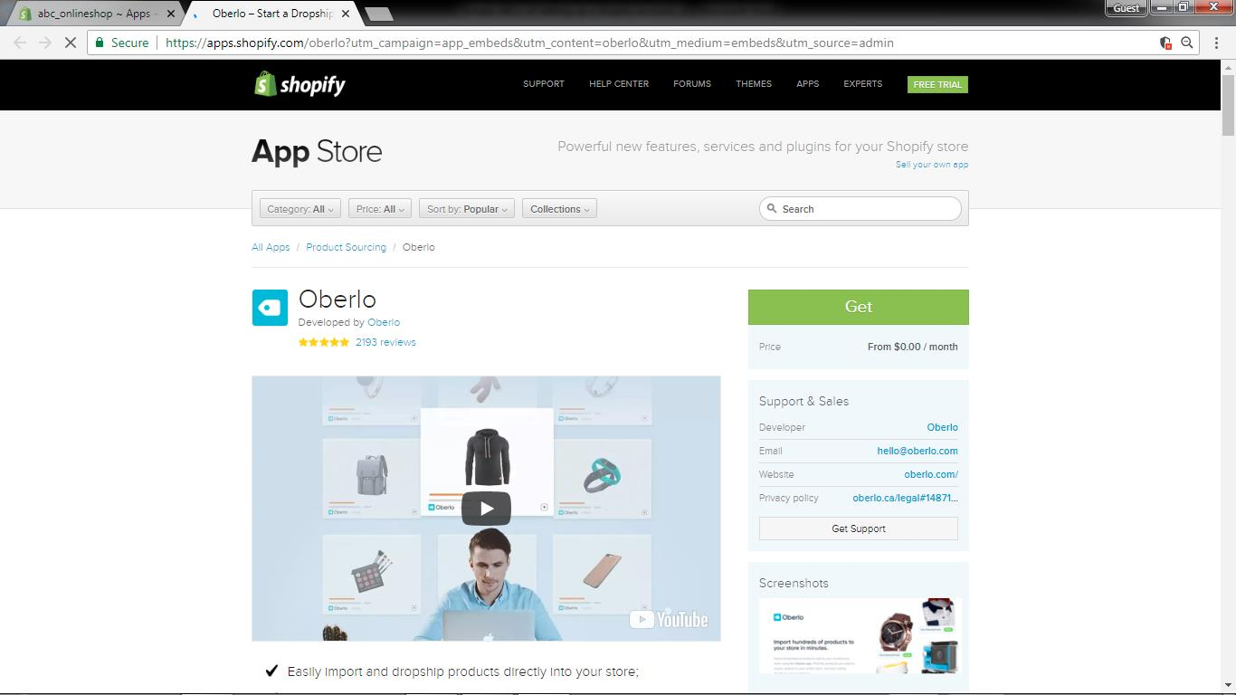 Shopify Tutorial | ABCs of a Shopify Account | Dropship with